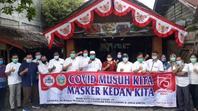 Photo of Organisasi Profesi Kesehatan Dukung Program 5 Juta Masker, Bergerak Ke Langkat