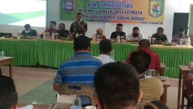 Photo of Kades Dan Bumdes Se-Kecamatan Siatas Barita Tapanuli Utara Studi Tiru Ke Bumdes Berkah Serdang Bedagei