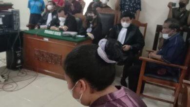Photo of Okor Ginting Dituntut 3 Bulan, Minola Akan Melakukan Pembelaan